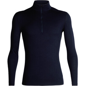 Icebreaker 200 Oasis LS Half Zip Shirt Men Midnight Navy